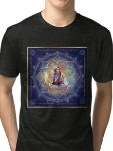 Shiva Mahamrityunjaya -  Health, Peace in Life & Prosperity  Tri-blend T-Shirt