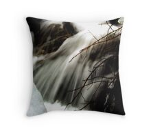 From Split Rocks it Pours Throw Pillow