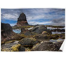 Pulpit Rock Cape Schank Victoria Poster