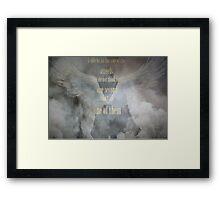 Sherlock Holmes Angels Framed Print