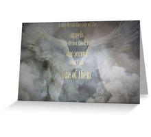 Sherlock Holmes Angels Greeting Card