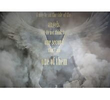 Sherlock Holmes Angels Photographic Print