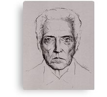 Christopher Walken tshirt and prints Canvas Print