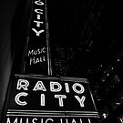 Radio City Music Hall Lights by Mark Wilson
