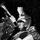 Rockefeller Trumpeter by Mark Wilson