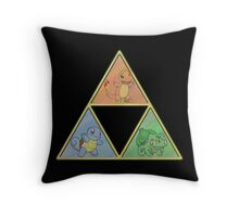 Pokemon Triforce Throw Pillow