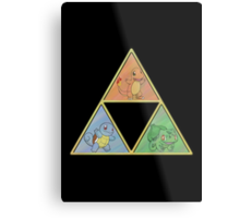 Pokemon Triforce Metal Print