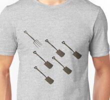 Fork and Shovels Unisex T-Shirt