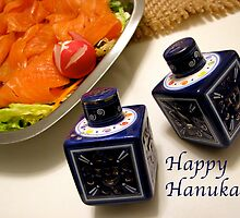 Happy Hanukah! by Jan  Wall