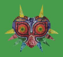 Majora's Mask Splatter Kids Clothes