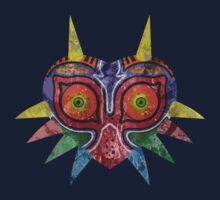 Majora's Mask Splatter One Piece - Long Sleeve