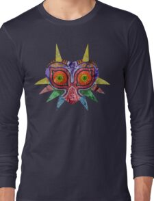 Majora's Mask Splatter Long Sleeve T-Shirt