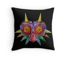 Majora's Mask Splatter Throw Pillow