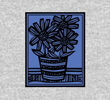 Novara Flowers Blue Black Tank Top