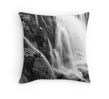 Erosion in Action: Loup of Fintry Waterfall Throw Pillow