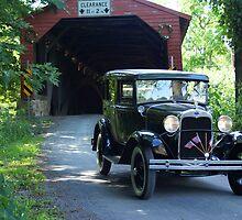 Model A & Covered Bridge II by Cassy Greenawalt