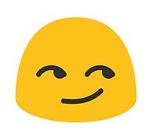 Smirking Face Google Hangouts / Android Emoji by emoji