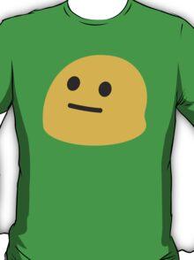 Neutral Face Google Hangouts / Android Emoji T-Shirt
