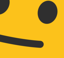 Neutral Face Google Hangouts / Android Emoji Sticker