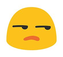 Unamused Face Google Hangouts / Android Emoji by emoji