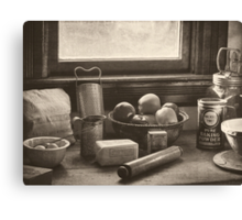 Vintage Art - All The Fixings Canvas Print