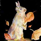 Autumn Rabbit by andrewgillette