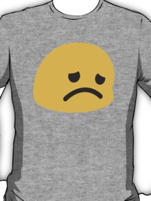 Disappointed Face Google Hangouts / Android Emoji T-Shirt