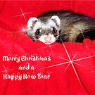 Miley Christmas and a Happy New Year! by Glenna Walker