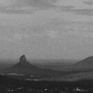Glass House Mountains by Steve Ungermann