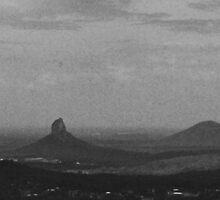 Glass House Mountains by Steven Ungermann