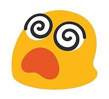 Dizzy Face Google Hangouts / Android Emoji by emoji