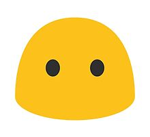 Face Without Mouth Google Hangouts / Android Emoji by emoji