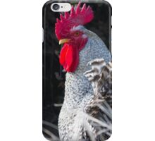 rooster in the farm iPhone Case/Skin