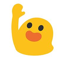 Happy Person Raising One Hand Google Hangouts / Android Emoji by emoji