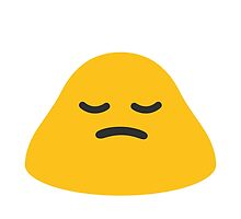 Person Frowning Google Hangouts / Android Emoji by emoji