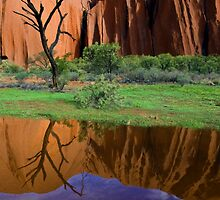 Uluru Reflections by Steven Pearce