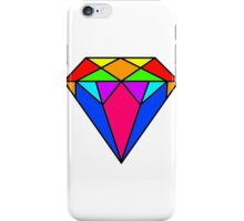 Colourful diamond iPhone Case/Skin