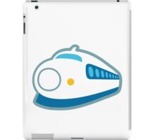 High-Speed Train With Bullet Nose Google Hangouts / Android Emoji iPad Case/Skin