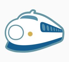 High-Speed Train With Bullet Nose Google Hangouts / Android Emoji Kids Clothes