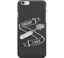 Group Love - White and Grey Edition iPhone Case/Skin