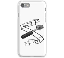 Group Love - Black and White Edition iPhone Case/Skin