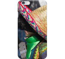 mask sombrero to carnelale iPhone Case/Skin