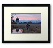Tennant Lake Lookout Tower Framed Print