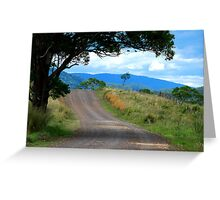 The Road in My Dreams Greeting Card