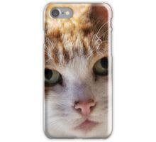 Cat's eyes iPhone Case/Skin