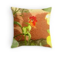 Singing solo Throw Pillow