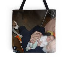 pops & baby Tote Bag
