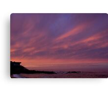 House on the shore- Cambria Canvas Print