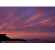 House on the shore- Cambria Photographic Print