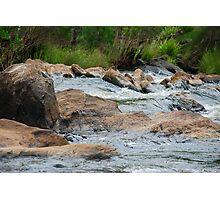 Boulder Cascades - Manning River NSW Photographic Print